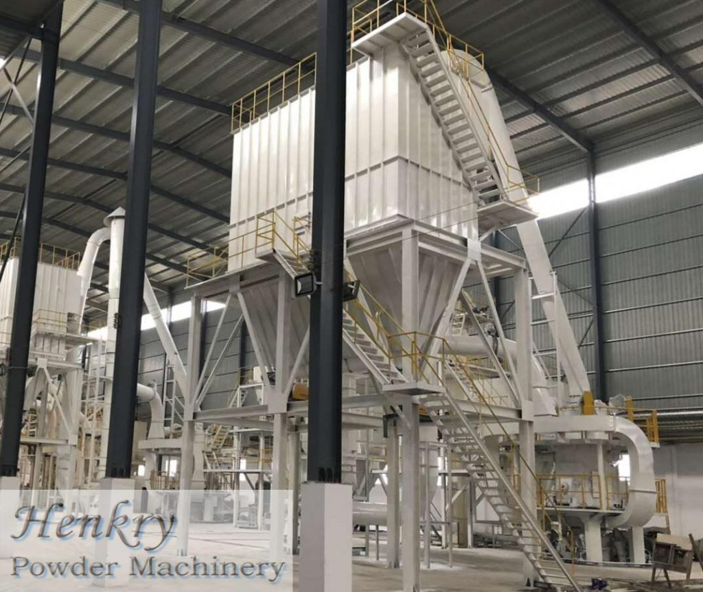 micro powder vertical mill